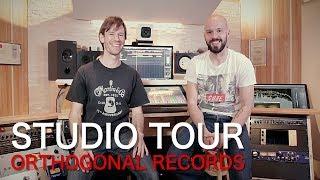 Recording Studio Tour: Orthogonal Records   Zed Marty Production