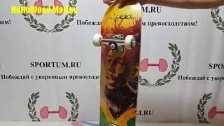 Обзор скейтборда  HelloWood Marley  / Review skateboard HelloWood Marley