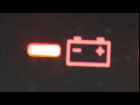 Testigos Audi A3 Significado >> Porque se prende una luz en forma de bateria en el tablero de mi carro - YouTube