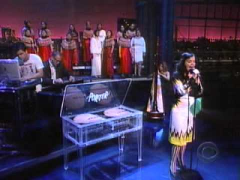 Björk - Pagan Poetry  (Live, Letterman)