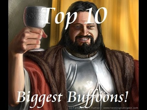 Top 10 Biggest Buffoons from song of ice and fire series.