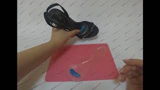 Ортопедические силиконовые стельки для обуви на каблуке: честный видеообзор