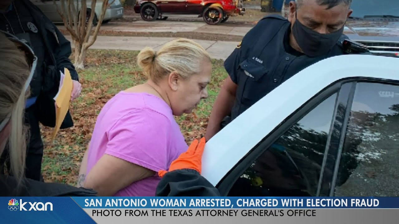 AG Paxton: Woman accused of voter fraud in San Antonio arrested, charged