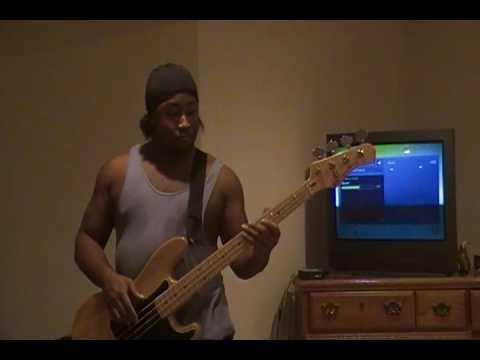 Puddle of Mudd - Blurry Bass Cover (Krash)