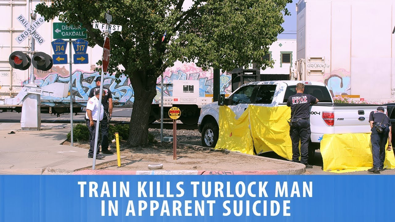 Train Kills Turlock Man In Apparent Suicide