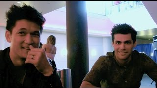 Shadowhunters - Matthew Daddario, Harry Shum Jr Interview