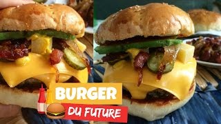 Burger du FUTUR !! Simple et rapide