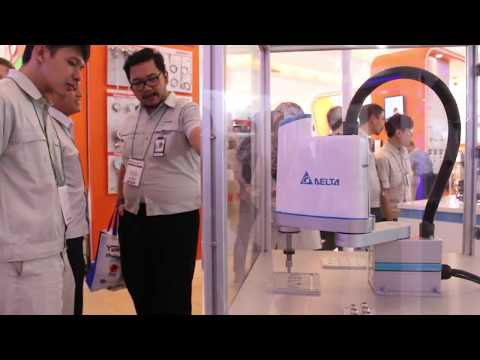 Delta Electronics at Manufacturing Indonesia 2017