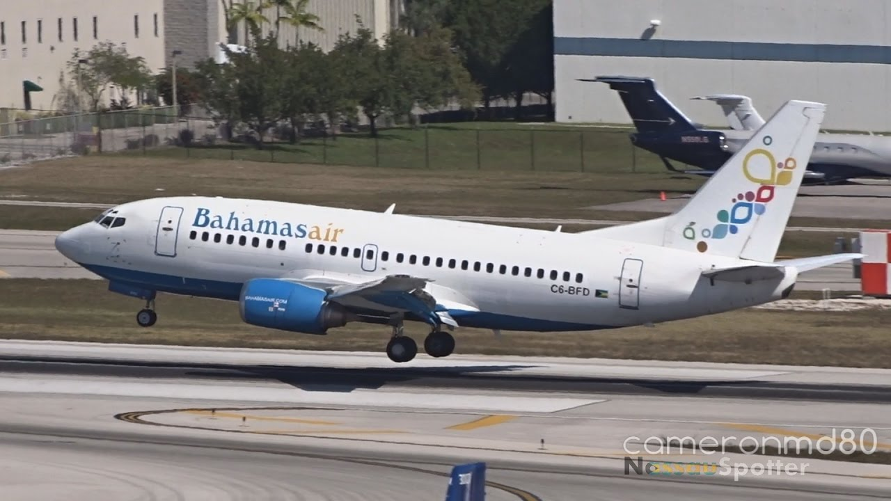 Bahamasair Turnaround   Boeing 737 500  C6 BFD   Ft Lauderdale   YouTube Bahamasair Turnaround   Boeing 737 500  C6 BFD   Ft Lauderdale