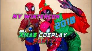 NY Wintercon 2018 Xṁas Cosplay Party