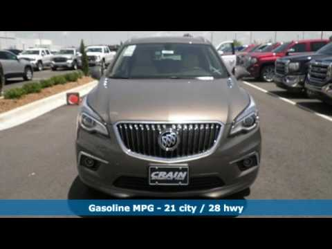new 2017 buick envision conway ar little rock ar 7bt1053 youtube. Black Bedroom Furniture Sets. Home Design Ideas