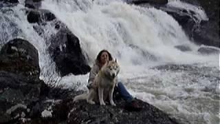 la mia cascata in Norvegia