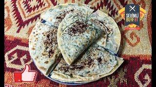 GÖY QUTABI / ГУТАБ С ЗЕЛЕНЬЮ (Азербайджанская кухня)