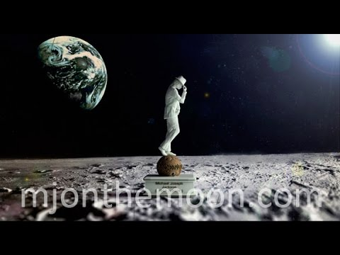 For the first time in History! Moonwalking statue on the moon PROJECT [OFFICIAL]