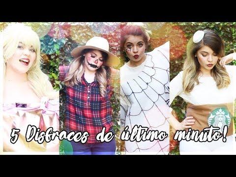DIY HALLOWEEN: 5 DISFRACES DE  ÚLTIMO MINUTO - ¡MUY ECONÓMICOS! - DIY