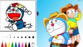 Doraemon Coloring Book #1