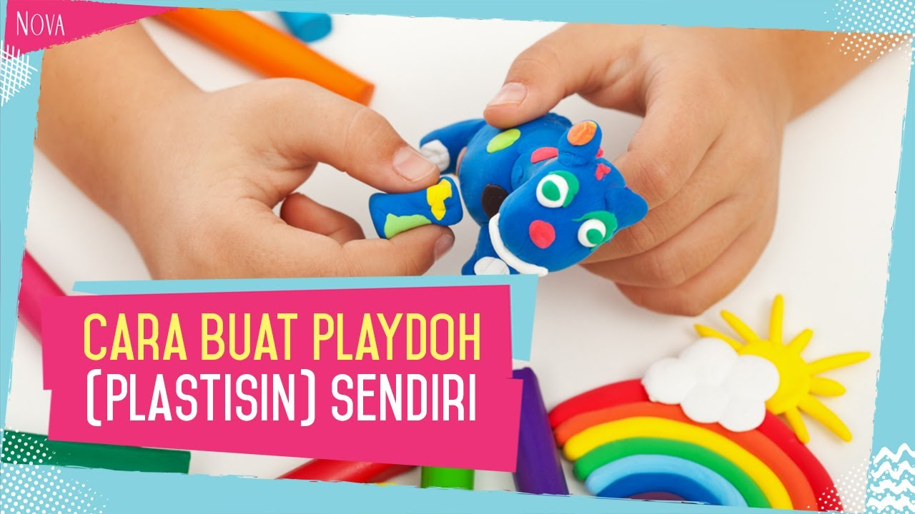 Cara Membuat Playdough Plastisin Sendiri