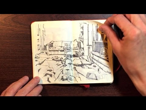 Mini Moleskine Travel Sketchbook