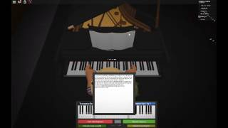 Scarborough Fair - Roblox Piano