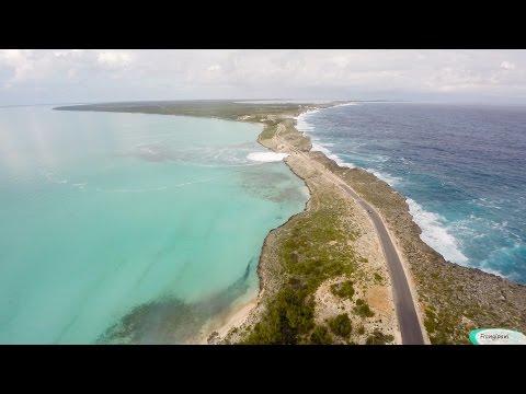 Winter Storm Damon Waves & Surf - Bridge Damage, Eleuthera Bahamas