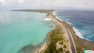 Winter Storm Damon Waves & Surf - Bridge Damage, Eleuthera Bahamas