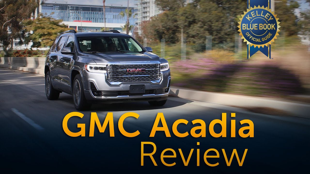 2020 Gmc Acadia Review Road Test Youtube