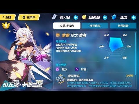 Honkai Impact 3 (崩坏3rd) -「God Kiana」Trial Stage
