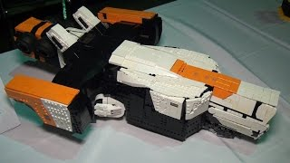 LEGO District 9 spaceship | Brick Bash 2016