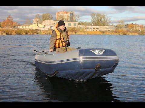 Видео обзор надувной лодки ПВХ Флагман 350 НДНД от интернет .