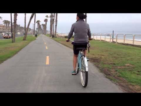 Bike Trail Of Huntington Beach, CA