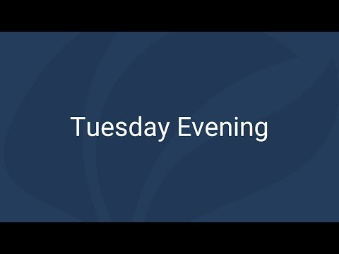 Tuesday Evening | Free Church of Scotland General Assembly 2018