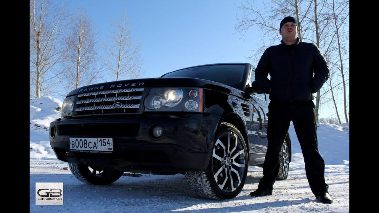 ШНива против Range Rover Sport 3.6 дизель/ тест RR Sport/Ser.P