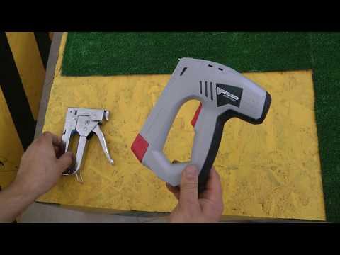Який степлер вибрати механічний або електричний?