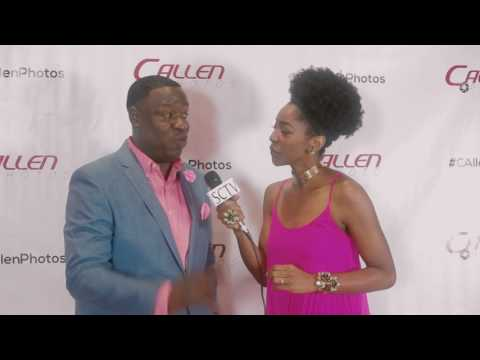 Piper the Comedian on the Red Carpet w/ SolTV's Robin Beltran