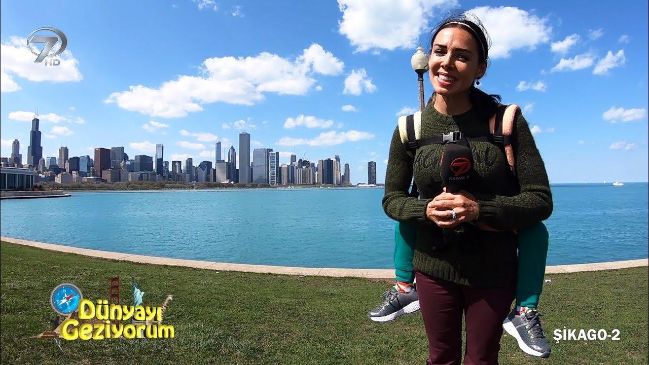 Dünyayı Geziyorum - Şikago-2 - 1 Temmuz Pazar