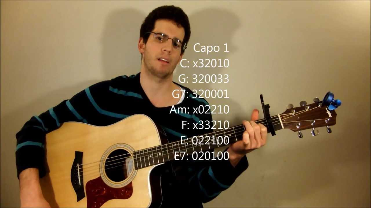 Its A Beautiful Day Guitar Lesson Michael Buble Youtube