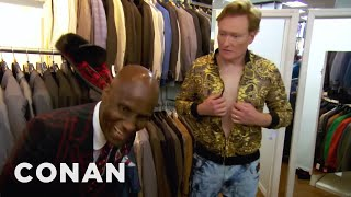 vermillionvocalists.com - Conan Gets Styled By Dapper Dan  - CONAN on TBS