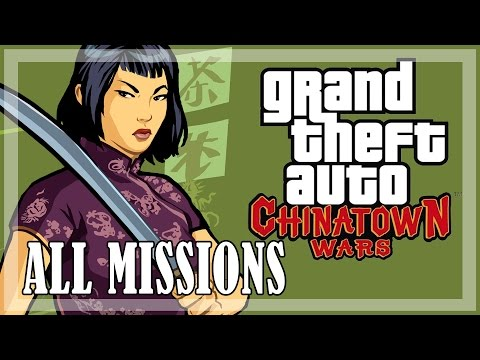 GTA Chinatown Wars - All Missions