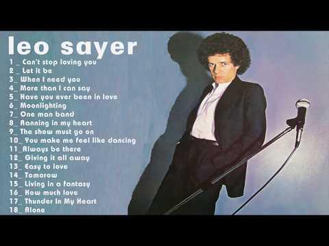 Leo Sayer Greatest Hits - Leo Sayer Top songs