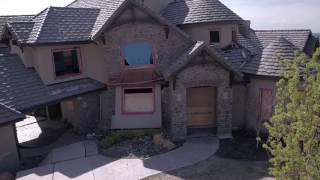 Sliding hillside buckle million dollar homes north of Boise