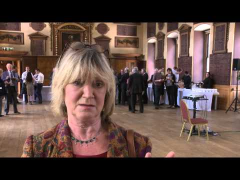 Joanna David supports Save Barts Great Hall campaign