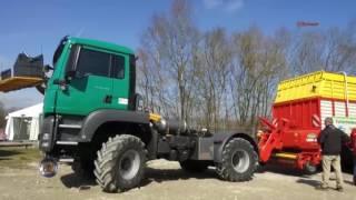 718 Reportaż MAN Trucknology Days 2017 cz2 rolnicze i leśne Na Osi 20 05 2017