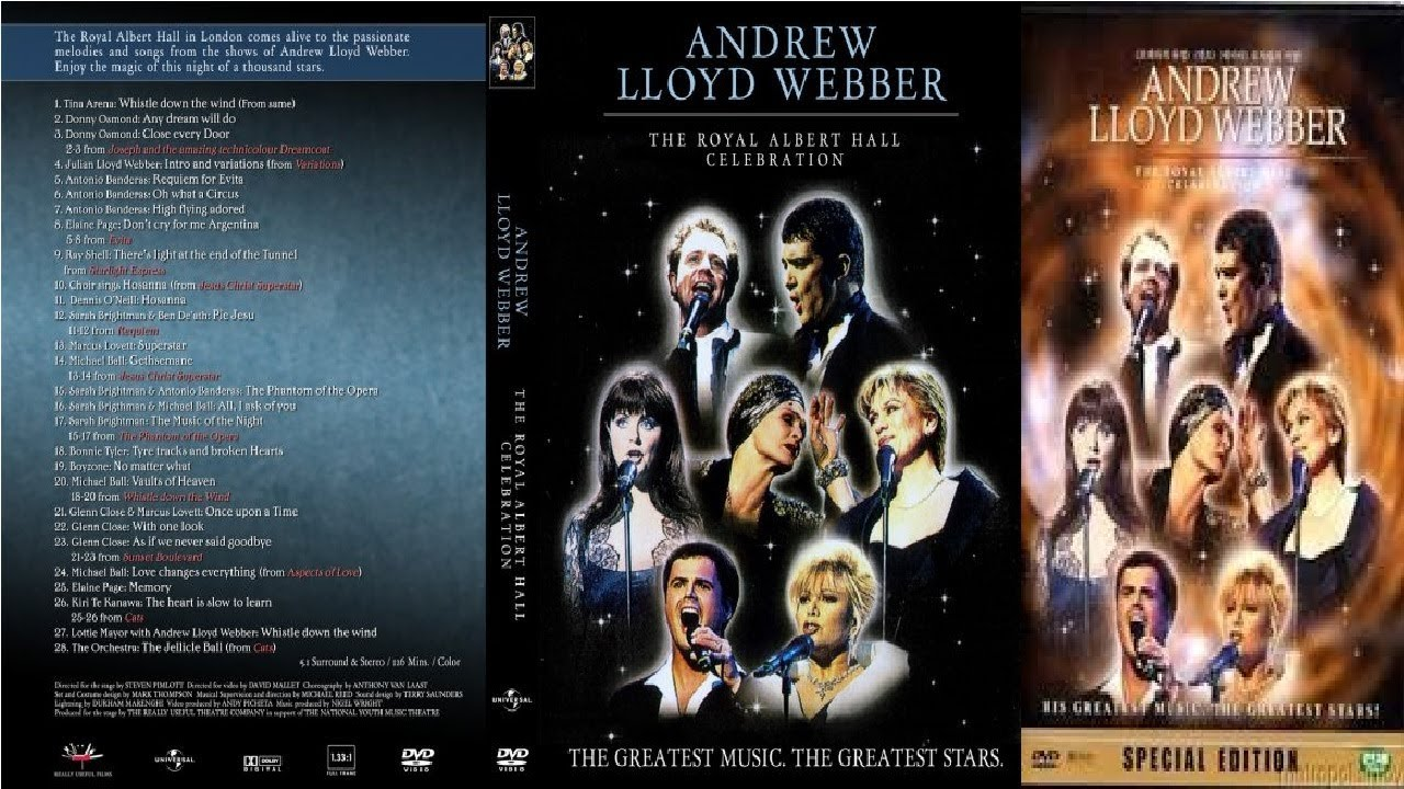 The Shows Must Go On | Andrew Lloyd Webber's Royal Albert Hall ...