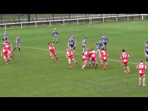 England Universities v Royal Air Force Rugby League Friendly 12th April 2017
