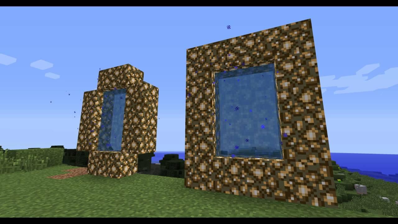 все об игре майнкрафт как сделать порталы в рай