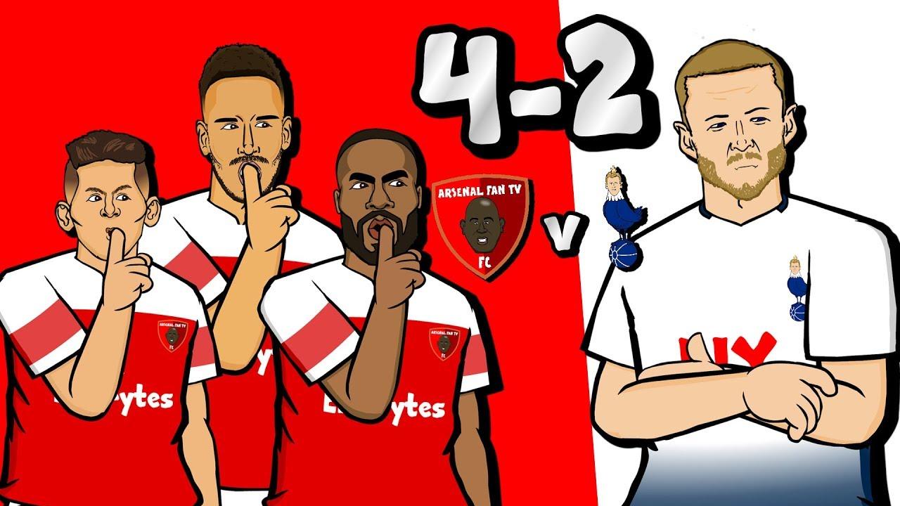Download 🔴4-2! Arsenal vs Tottenham🔴 (Goals Highlights of North London Derby 2018)