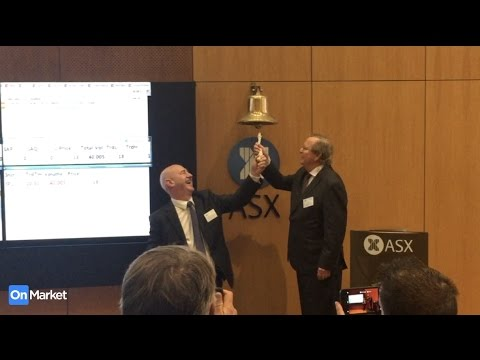 InPayTech (ASX: IP1) listing ceremony at the ASX, Sydney - 19th December 2016