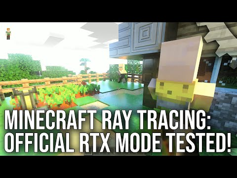 Minecraft NEW Ray Tracing RTX Mode Hands-On And Tested In Depth!
