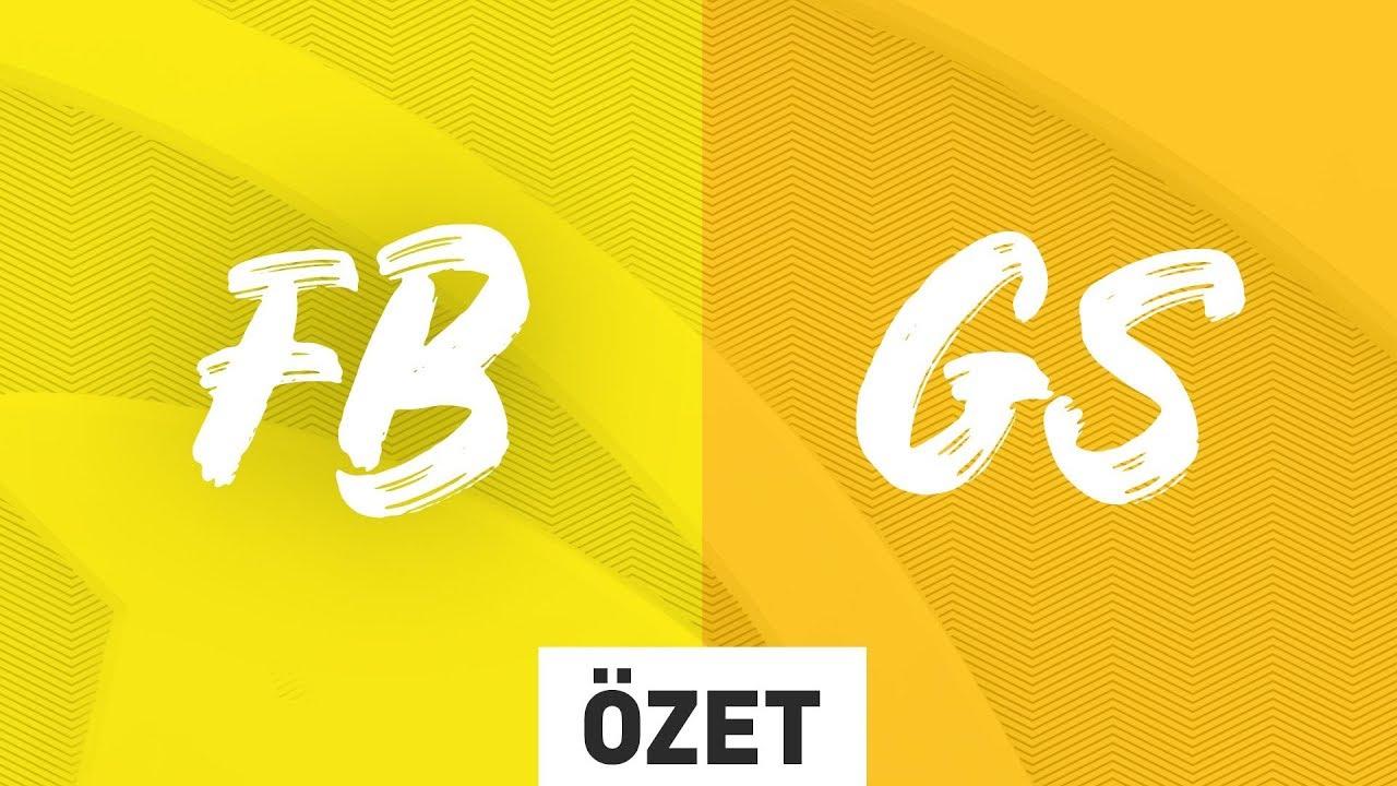 1907 Fenerbahçe Espor ( FB ) vs Galatasaray Espor ( GS ) Maç Özeti | 2019 Yaz Mevsimi 8. Hafta
