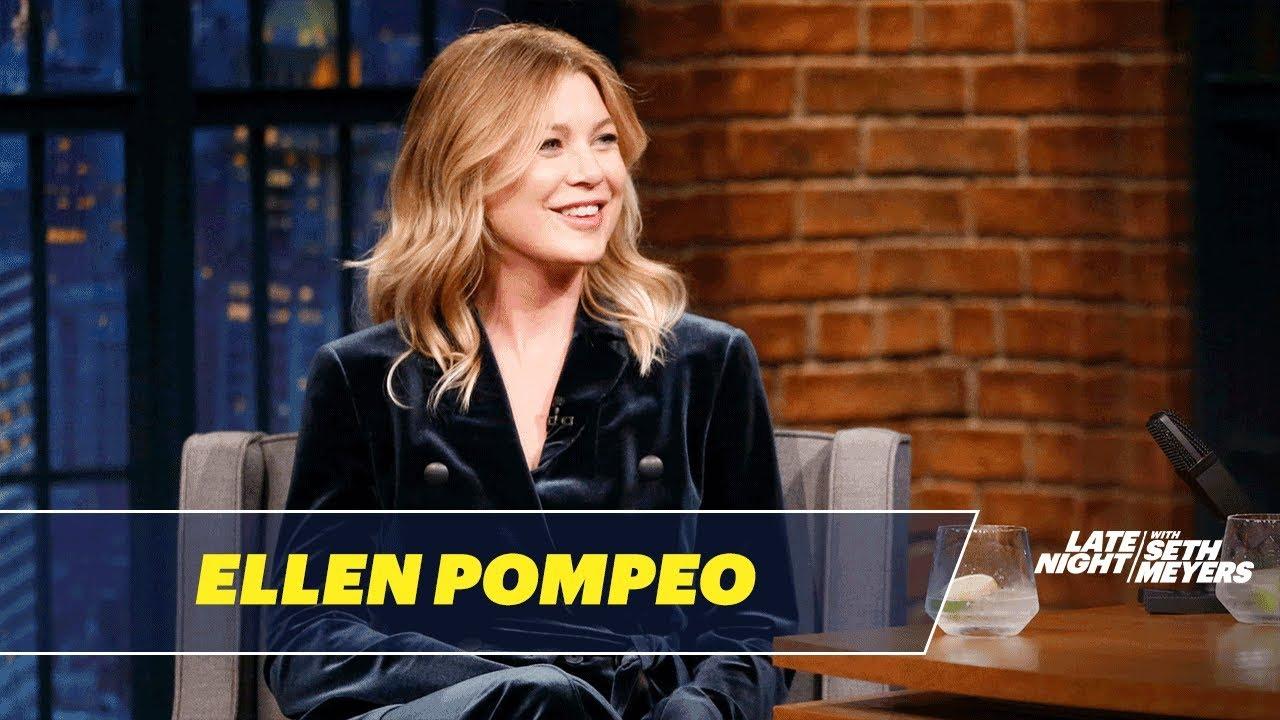 Ellen Pompeo Reflects On Greys Anatomys 14 Seasons Youtube